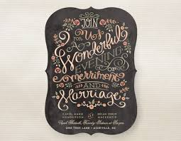 wedding chalkboard top 10 chalkboard wedding invitations for rustic weddings