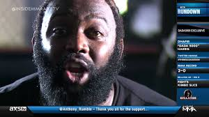 from the backyard to bellator dada 5000 as he prepares for