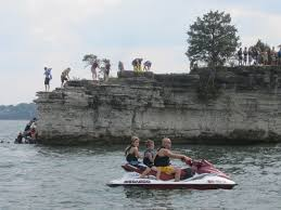 how big is table rock lake cliff jumping at table rock lake i was always to scared to jump