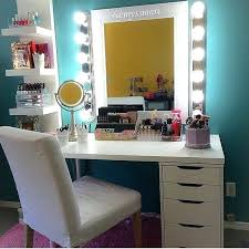 Bedroom Makeup Vanity With Lights Makeup Vanities Bedroom Makeup Corner Makeup Vanity Bedroom