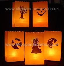 glass votive wedding candles paper bag lanterns u0026 more halloween
