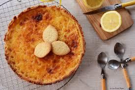 cuisine tarte au citron tarte au citron recette de p bocuse au fil du thym
