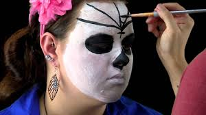 Easy Halloween Day Of The Dead Makeup Tutorial Sugar Skull