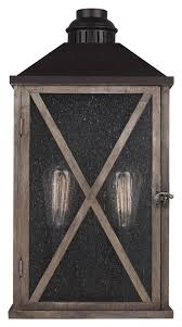 Murray Feiss Wall Sconce Feiss Ol17004dwo Orb Lumiere Rustic Weathered Oak