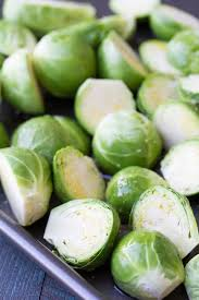 maple balsamic roasted brussels sprouts kristine s kitchen