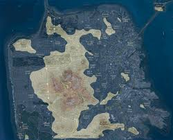 San Francisco Street Map by San Francisco Archipelago Burrito Justice