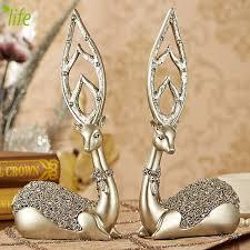 wedding gift gold wedding gift gold luxury deer figurines lovely birthday gift