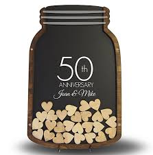 50th wedding anniversary gift ideas for parents wedding anniversary gift for parents anniversary guest book 50th
