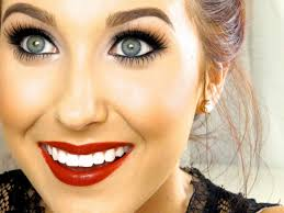 classic red lip makeup tutorial jaclyn hill youtube