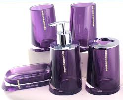 accessories agreeable cool purple bathroom accessories plum gray