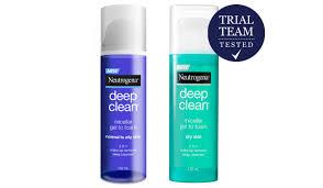 neutrogena deep clean micellar gel to foam trial team reviews