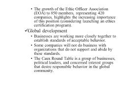 Caux Round Table Business Ethics A New Style Of Management And Investment Ppt