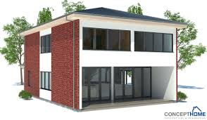 Low Cost House Design by Small House Plan Ch45 Home Design With Affordable Building Budget