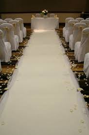 ivory aisle runner white ivory runner hire wedding disco peterborough