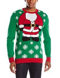 men u0027s santa body ugly christmas sweater with lights ugly