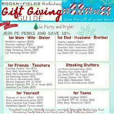 awesome gift ideas from rodan fields for the entire family go to
