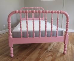 blue lamb furnishings pink jenny lind spindle spool bed sold