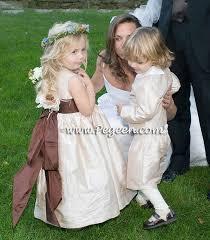 flower girl rings images Champagne theme weddings flower girl dresses jpg