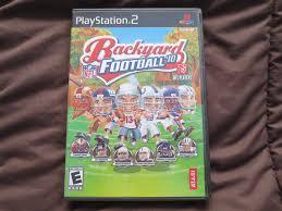 backyard football u002710 sony playstation 2 2009 ebay