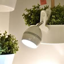 clip on reading light for bed bright cl desk l led battery powered clip on bookshelf dorm