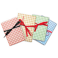 gingham wrapping paper premium gingham wrapping paper gift sheets 20 x 28 linen and bags