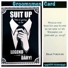groomsmen invitations best 25 ask groomsmen ideas on asking groomsmen asking