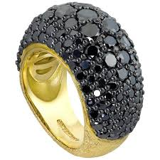 Handmade In Nyc - alex soldier spinel textured yellow gold ring limited ed handmade