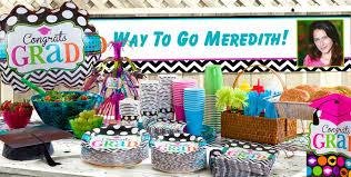 grad party supplies chevron dots graduation party supplies party city