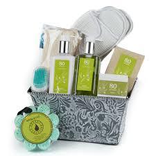 organic spa gift baskets organic 80 acres spa gift basket per spa gift basket