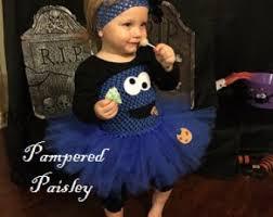 Blue Monster Halloween Costume Cookie Monster Tutu Etsy