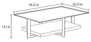 standard coffee table dimensions the best 100 cute dimensions of a coffee table image collections