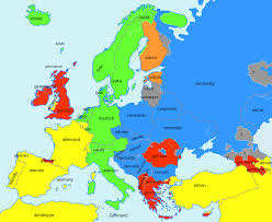 map of germany in europe europe map in german language lapiccolaitalia info