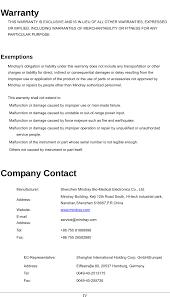 wm3000 mobile remote ecg measurement system users manual user