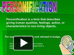 ppt u2013 personification powerpoint presentation free to view id