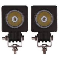 Light Bar For Motorcycle 2pcs 10w Spot Led Work Light 2 Inch Round Led Driving Lights For