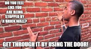 Meme Wall - brick wall imgflip