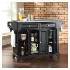 kitchen movable kitchen island with movable kitchen island black