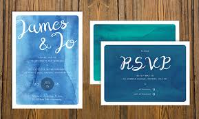 sle rsvp cards how to create a watercolor wedding invitation in adobe indesign