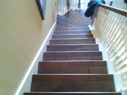 How To Install Laminate Wood Flooring On Stairs Wood Stairs Install Modern Wood Stairs
