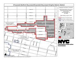 New York City Council District Map by Bedford Stuyvesant Expanded Stuyvesant Heights Historic District