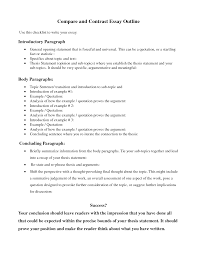 Comparative Essay Example A Comparative Essay Introduction Example