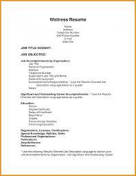 Job Winning Resume Examples Skills Cover Letter