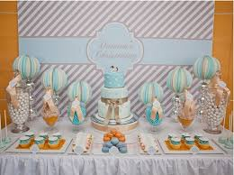 baptism decoration ideas boy s christening ideas baptism decorations