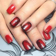 60 beautiful red nail art to up your style quotient