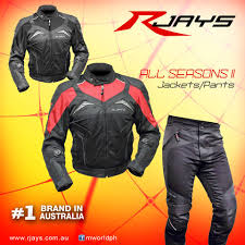riding jackets rjays all seasons ii jacket and pants now available in motomarket