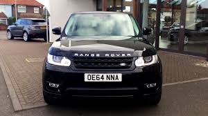 land rover range rover evoque 2014 used land rover range rover sport hse dynamic sdv6 black oe64nna