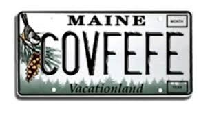 Maine Vanity License Plates Someone Claimed A