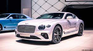 bentley dresses up new continental 2019 bentley continental gt flaunts stunning new stance cabin at iaa