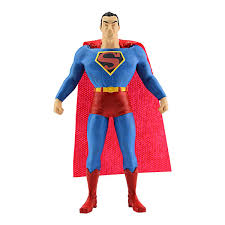 coca cola halloween costume superman bendable dc plastic figure vintage style superhero toys