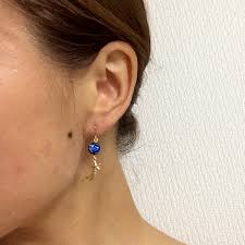 allergy earrings ayulry rakuten global market metal allergy support nickel